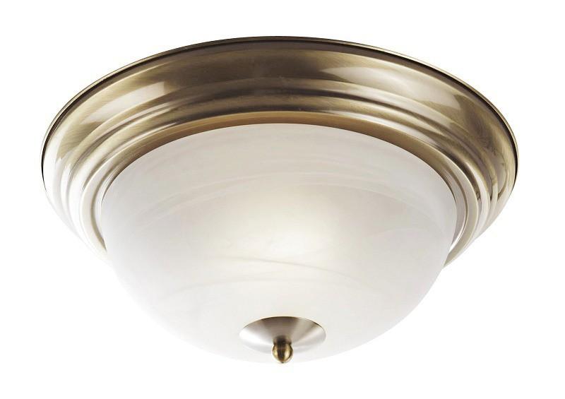 Nábytek Top - Nástěnná svítidla, E27 (bronzová/bílá)