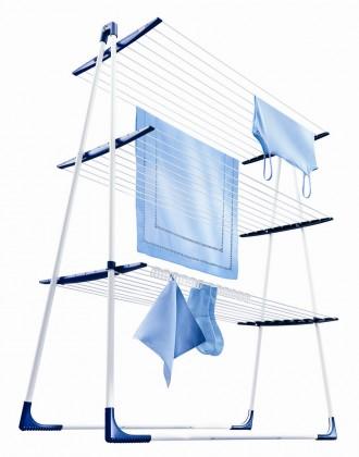 Nábytek Tower 300 - sušák na prádlo (bílý)