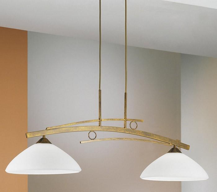 Nábytek Trani - E27, 100W, 90x152x30 (hnědo-zlatá)