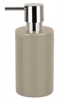 Nábytek Tube-Dávkovač mýdla taupe(šedá)