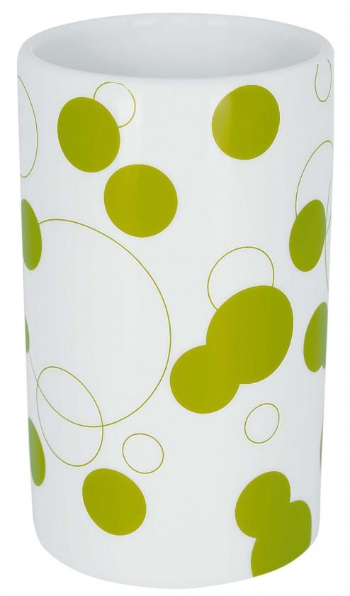 Nábytek Tube-Kelímek  Bubbles kiwi(bílá,zelená)