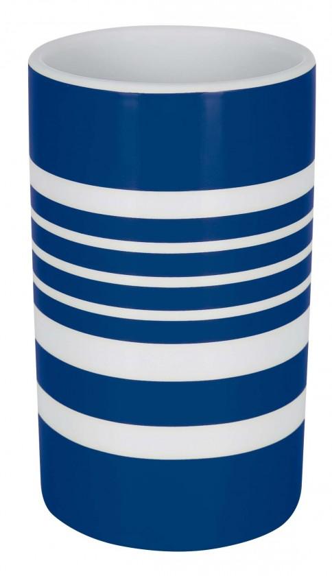 Nábytek Tube-Kelímek  STRIPES blue(bílá,modrá)