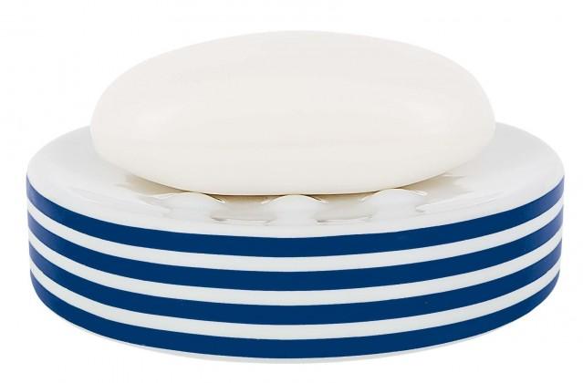 Nábytek Tube-Mýdlenka STRIPES blue(bílá,modrá)