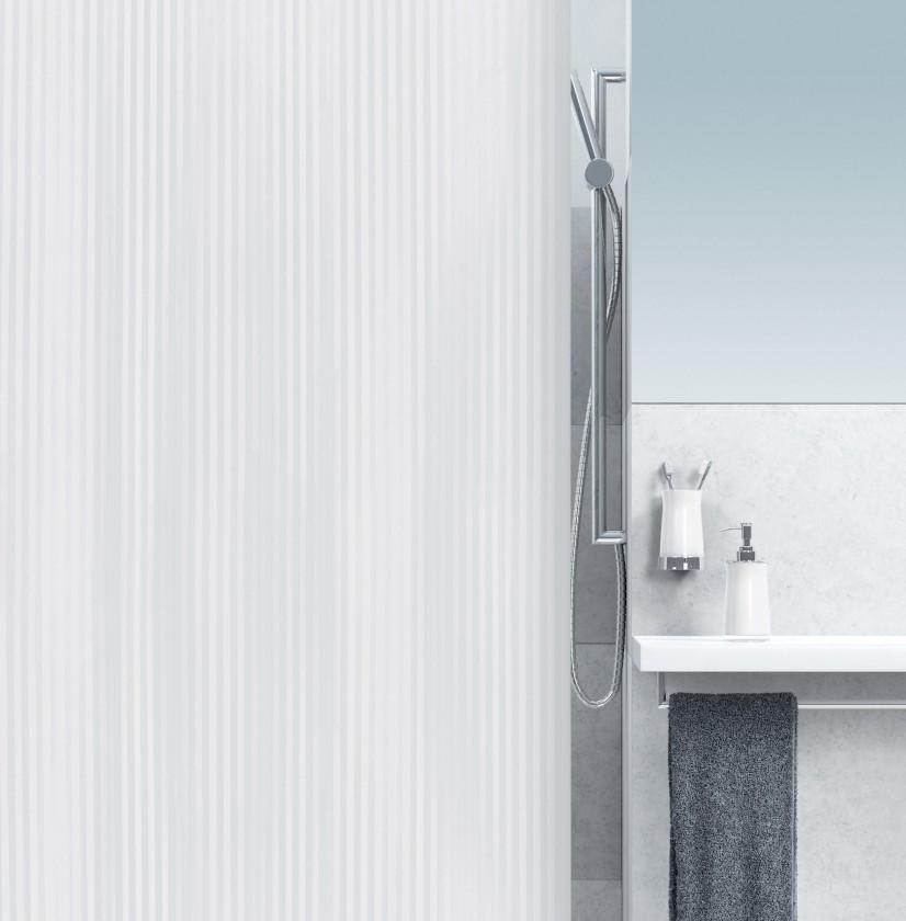 Nábytek Twill-Sprchový závěs 180x200 cm(bílá)