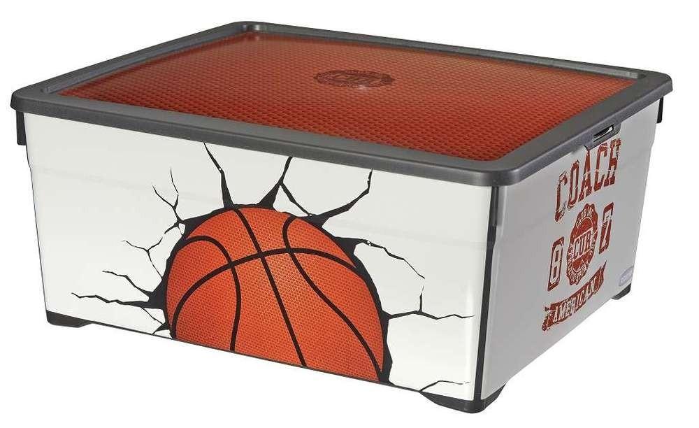 Nábytek Úložný box 18,5l - Basket (bílá)