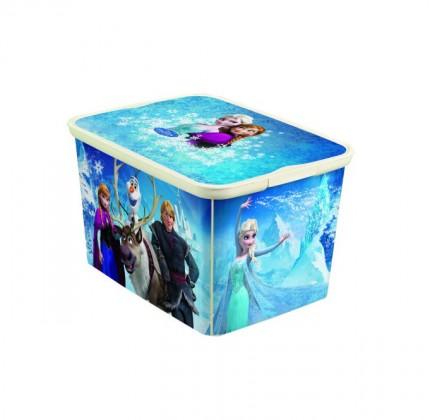 Nábytek Úložný box - Amsterdam L Frozen (modrá)