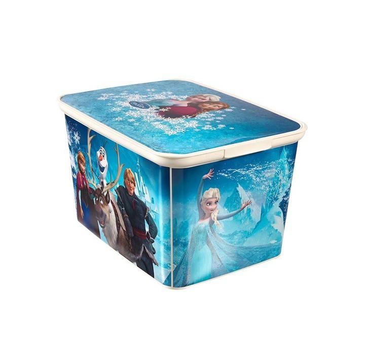 Nábytek Úložný box - Amsterdam S Frozen (modrá)