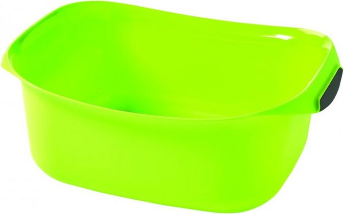 Nábytek Umyvadlo obdélník 8l - zelená