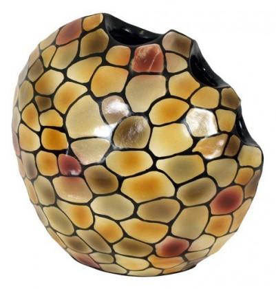 Nábytek Váza keramická - 34 cm (keramika, mix barev)