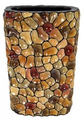 Nábytek Váza keramická - 35 cm (keramika, mix barev)