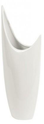 Nábytek Váza keramická - 40,5 cm (keramika, bílá)