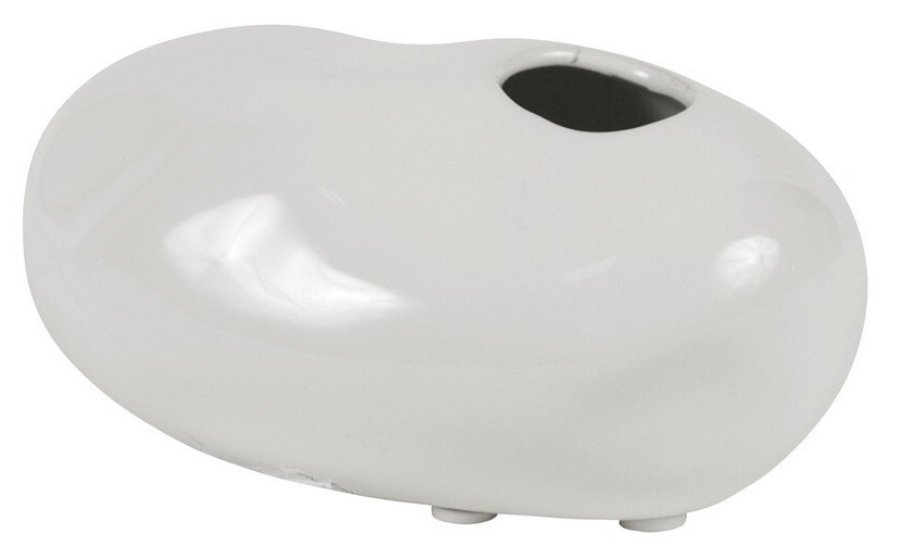 Nábytek Váza keramická - 6,5 cm (keramika, bílá)