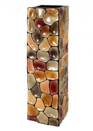 Nábytek Váza keramická - 60 cm (keramika, mix barev)