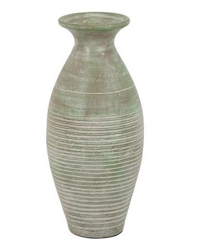 Nábytek Váza keramická - 60 cm (keramika, zelená)