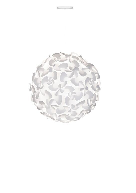 Nábytek Vita Lora XL - Stropní osvětlení (bílá)