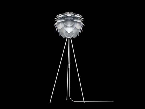 Nábytek Vita Silvia ocel - Lampa (bílá)