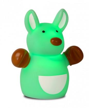 Nábytek Zoo - lampička, Kangoroo, 1W, LED (zelená)