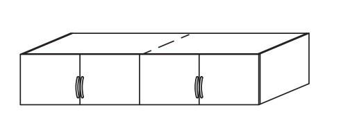 Nádstavec Case – nástavec (Alpská bílá)