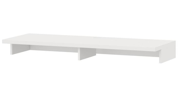 Nádstavec na TV stolek Cino - Typ 61 (bílá arctic)