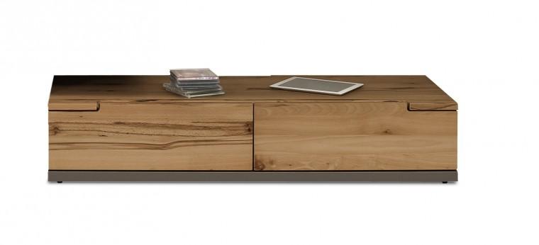 Nádstavec na TV stolek Feel - TV prvek se 2 zásuvkami (cubanit/divoký buk)