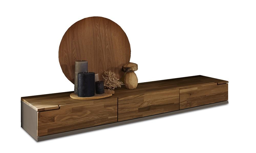 Nádstavec na TV stolek Feel - TV prvek se 3 zásuvkami (cubanit/dub)
