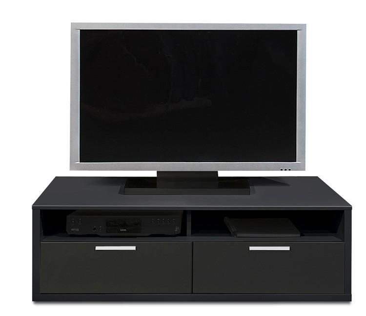 Nádstavec na TV stolek Game - TV prvek, 123 cm (černá)