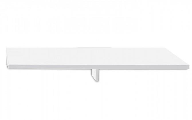 Nádstavec na TV stolek Linea - TV nástavba, 120 cm (bílá)