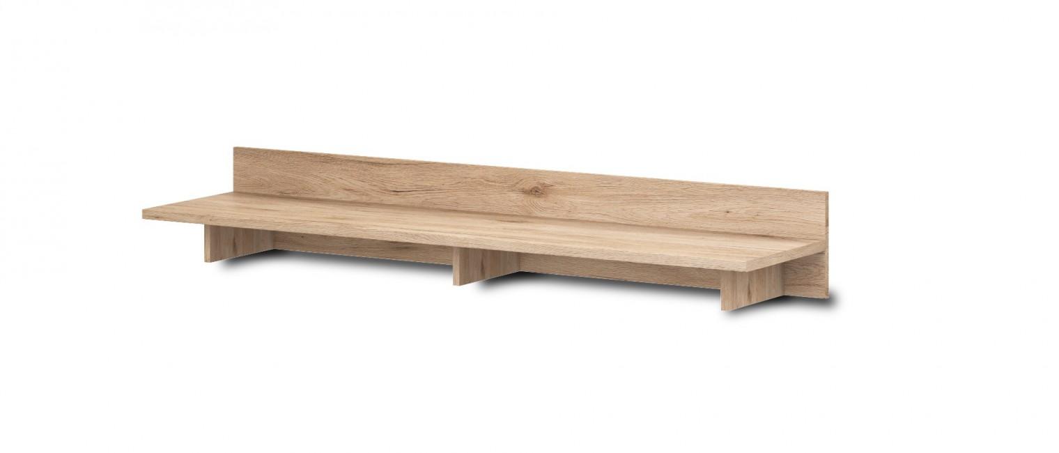Nádstavec na TV stolek Morris Typ 61 (dub sanremo pískový / břidlice)