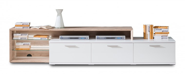 Nádstavec na TV stolek Veto - Typ 37 (dub san remo sand)