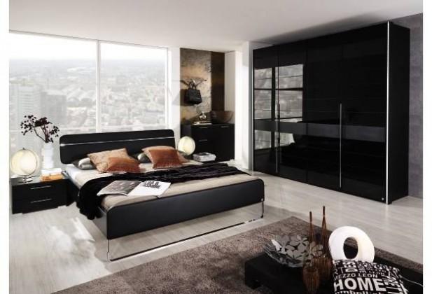 Nala - 140x200 cm AS806.70N0.45 (černá/černé sklo)