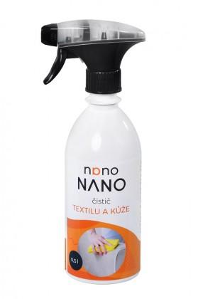 Nano - čistič textilu a kůže (500 ml)