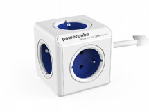 Napájecí adaptér PowerCube Extended 5 zásuvek blue, 1,5m