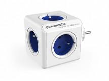 Napájecí adaptér PowerCube Original 5 zásuvek, modrá
