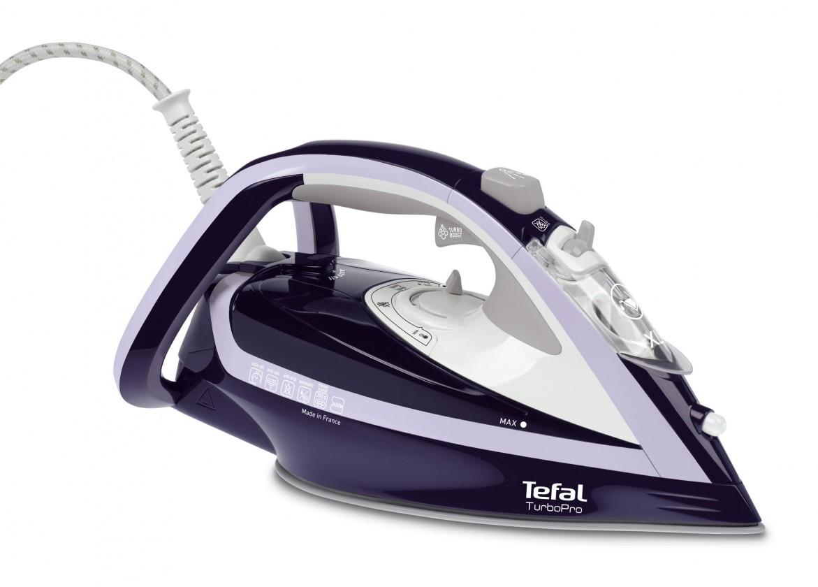 Napařovací žehlička Žehlička Tefal Turbo Pro FV5615E0, 2600W