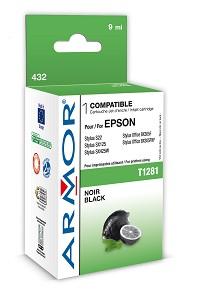 Náplně a tonery - kompatibilní ARMOR náplň, Black (T128140) K12588