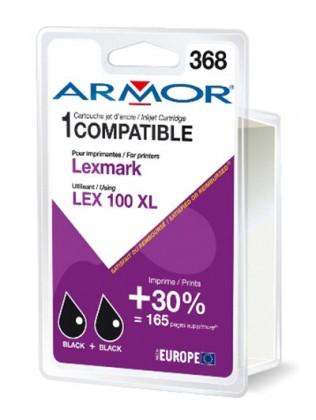Náplně a tonery - kompatibilní Armor náplň, Lexmark bi-pack (LEX100XL B) K10187R1