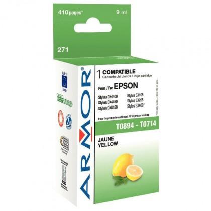 Náplně a tonery - kompatibilní ARMOR náplň, Yellow (T071440)K12317