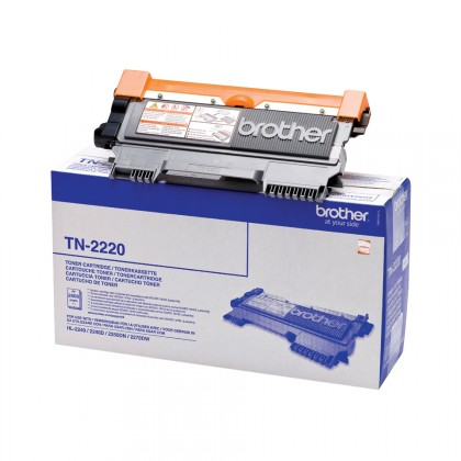 Náplně a tonery - kompatibilní Brother TN2220 černý toner pro HL22x0 - originální