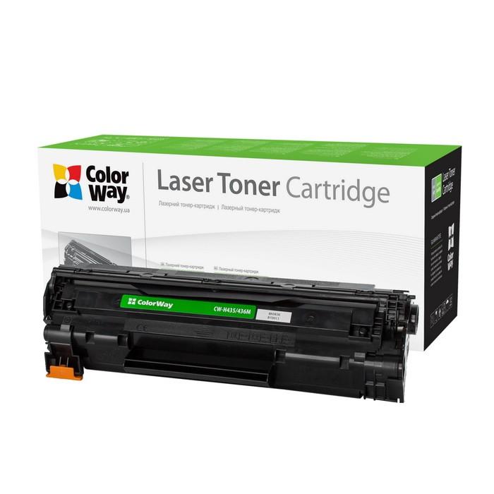 Náplně a tonery - kompatibilní ColorWay kompatibilní toner pro HP CB435A/CB436A/černý/1500