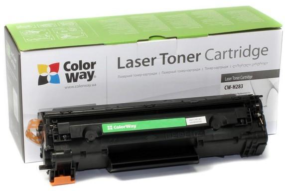 Náplně a tonery - kompatibilní ColorWay kompatibilní toner pro HP CF283A/ černý/ 1500 stran