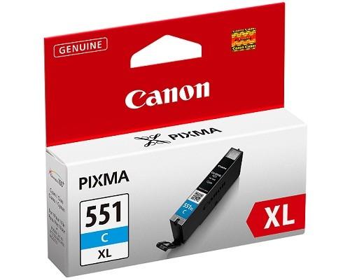 Náplně a tonery - originální Canon BJ CARTRIDGE CLI-551XL C 6444B001