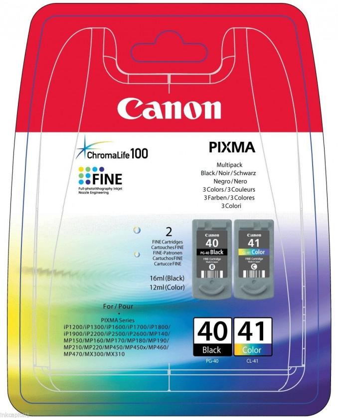 Náplně a tonery - originální Canon BJ CARTRIDGE PG-40/CL-41 Multi Pack 0615B043