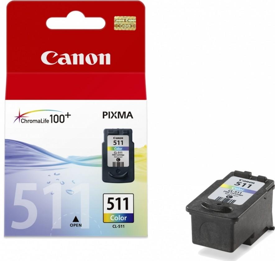 Náplně a tonery - originální Canon CL-511 (2972B001) - originální