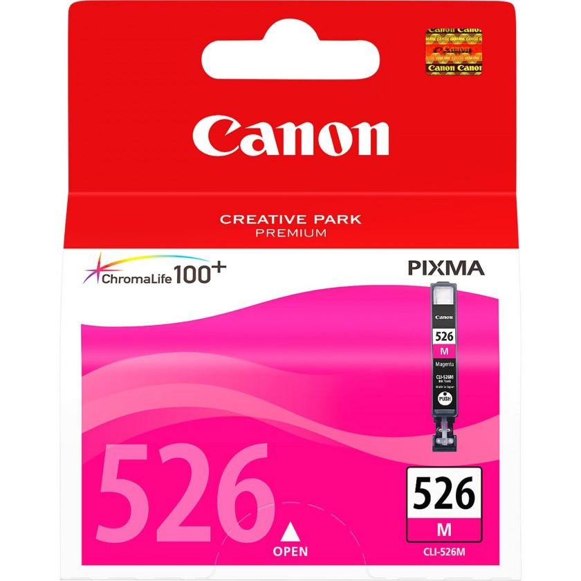 Náplně a tonery - originální Canon CLI-526 M, purpurový (4542B001) - originální