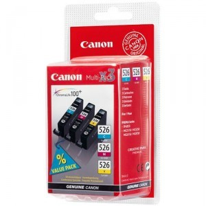Náplně a tonery - originální Canon CLI-526 MultiPack - originální