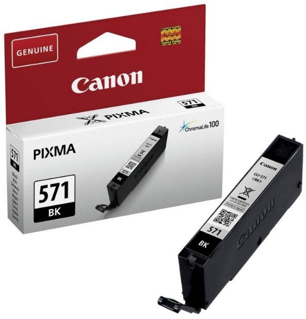 Náplně a tonery - originální Canon CLI-571 BK, černá - originální