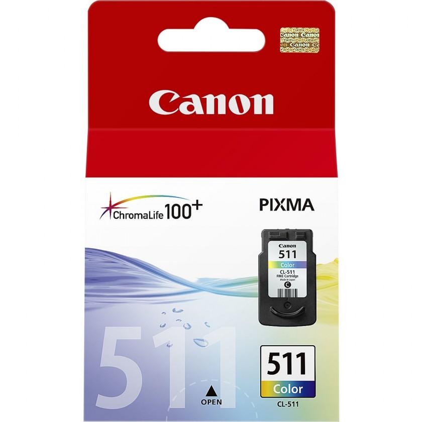 Náplně a tonery - originální Cartridge Canon CL-511, barevná, Tri-color