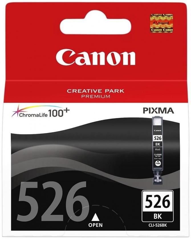 Náplně a tonery - originální Cartridge Canon CLI-526 Bk, černá
