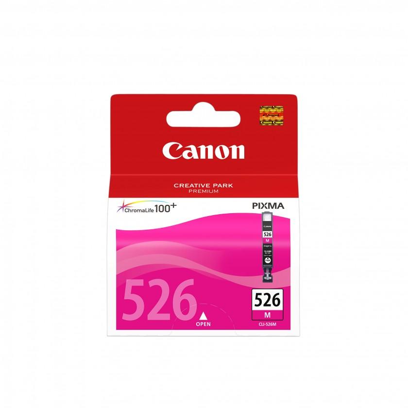 Náplně a tonery - originální Cartridge Canon CLI-526 M, purpurová