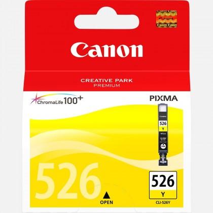 Náplně a tonery - originální Cartridge Canon CLI-526 Y, žlutá